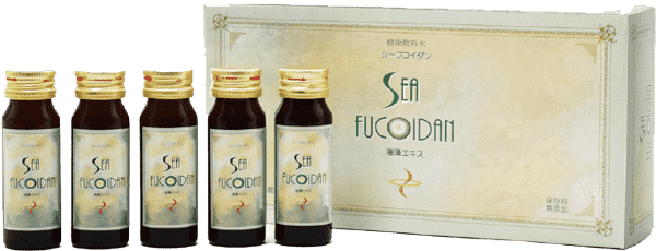 Sea Fucoidan 30ml bottle
