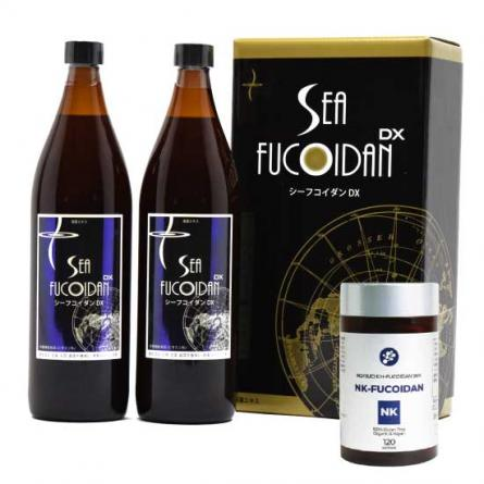 SEA FUCOIDAN DX 900mlx2/NK-FUCOIDAN Bundle Set